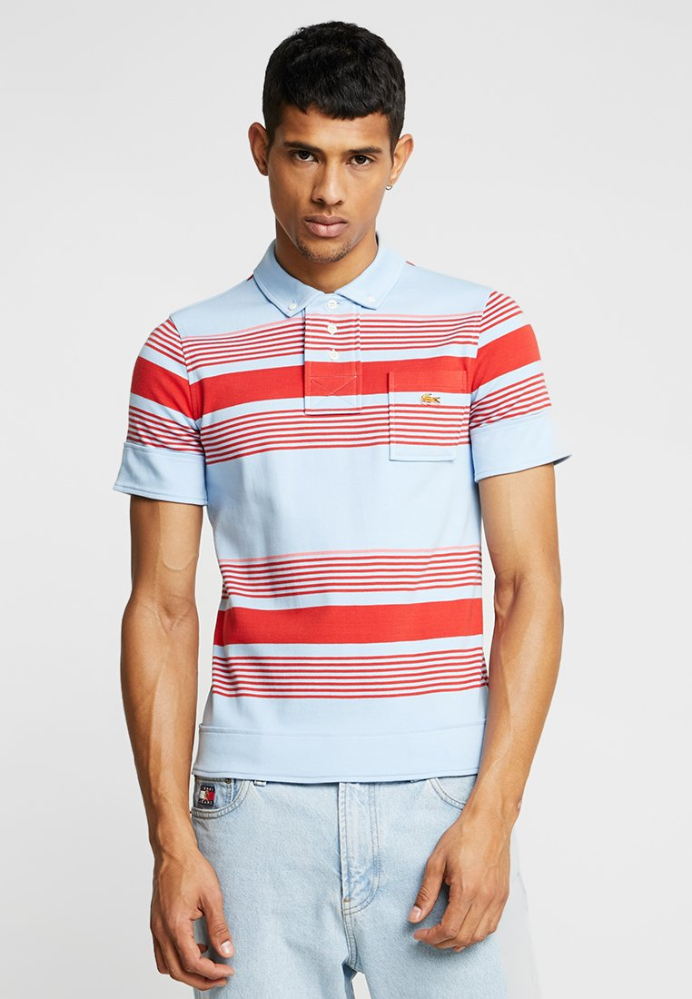 Lacoste LIVE - LACOSTE LIVE X OPENING CEREMONY POLO SHIRT - Polo shirt - calanque/multicolor