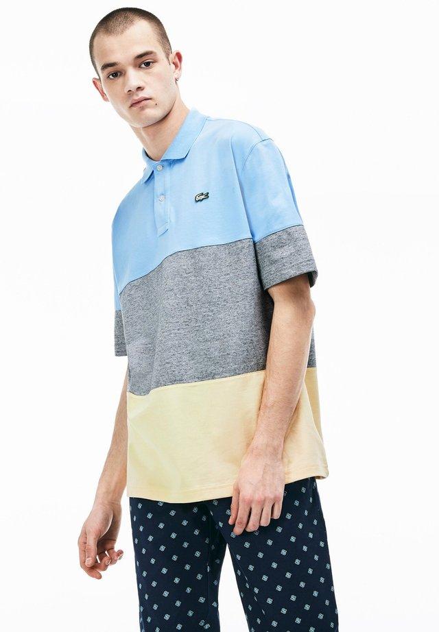 DH3645-00 - Polo shirt - bleu clair / gris chine / jaune