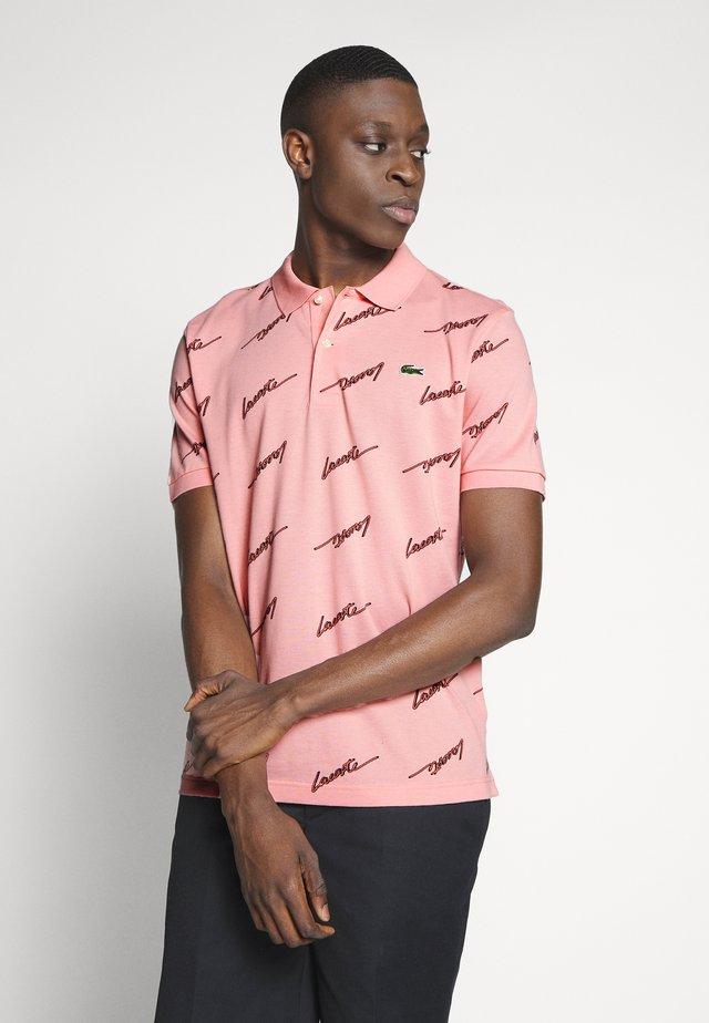 Poloshirt - elf pink/sand
