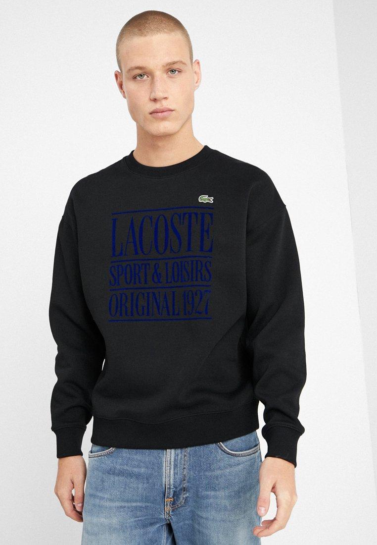 Lacoste LIVE - Sweatshirts - black/methylene