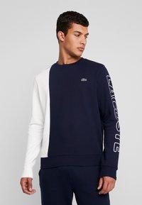 Lacoste LIVE - Sweatshirt - marine/farine - 0