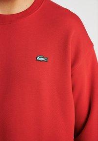 Lacoste LIVE - Sweatshirt - flash red - 5