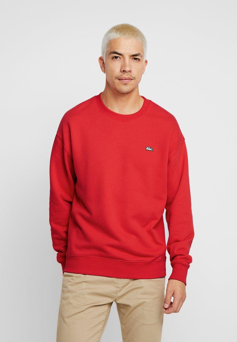 Lacoste LIVE - Sweatshirt - flash red