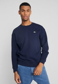 Lacoste LIVE - SH8054-00 - Pullover - navy blue - 0