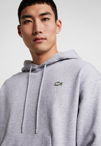 Lacoste LIVE - Hoodie - silver chine - 4