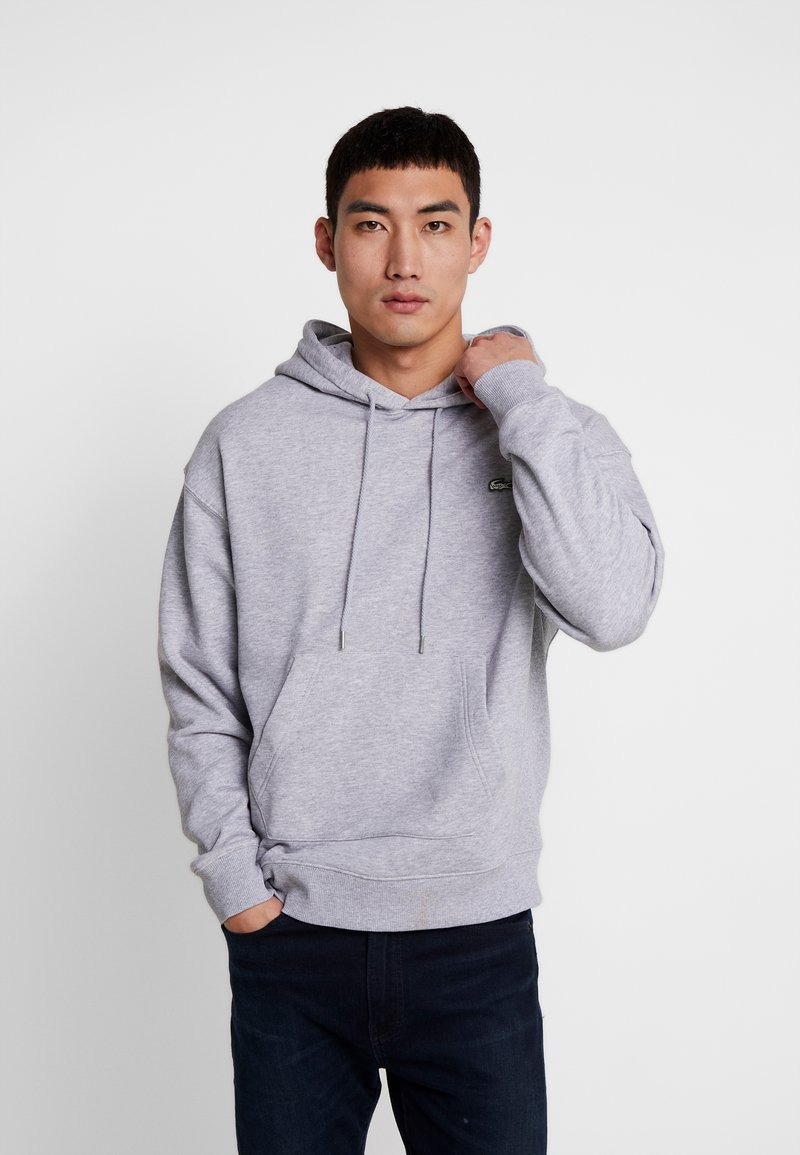 Lacoste LIVE - Hoodie - silver chine