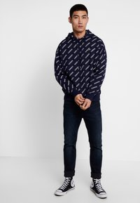 Lacoste LIVE - SH8151 - Hoodie - marine/blanche - 1