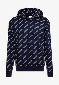 Lacoste LIVE - SH8151 - Hoodie - marine/blanche - 3