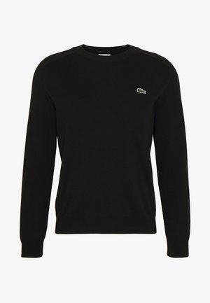 Sweatshirt - black/flour