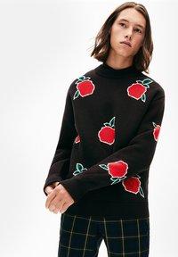 Lacoste LIVE - PULLI - Sweatshirt - black - 0