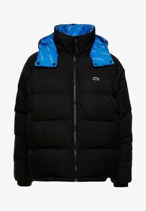Down jacket - black nastu/white