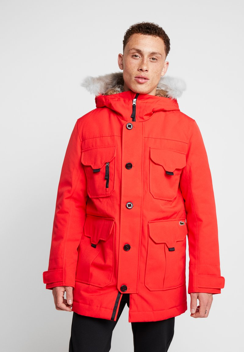 Lacoste LIVE - Parka - flash red