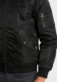Lacoste LIVE - Bomber Jacket - noir/charon - 4
