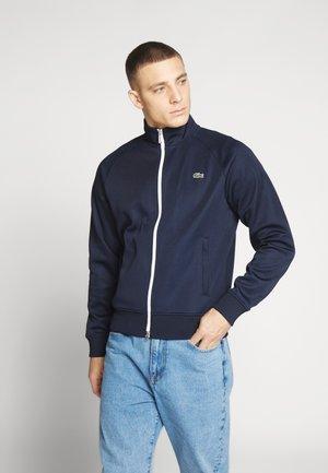 Training jacket - navy blue/white