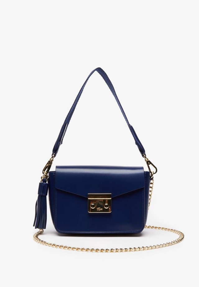 Handbag - blue depths