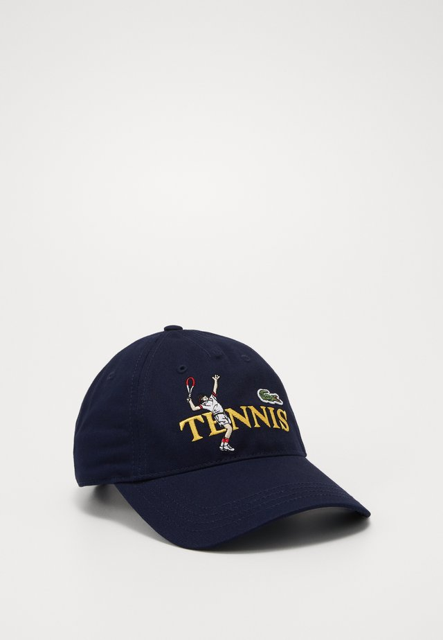 Cap - navy blue/multi-coloured