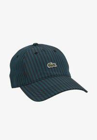 Lacoste LIVE - Cap - black/pine - 1