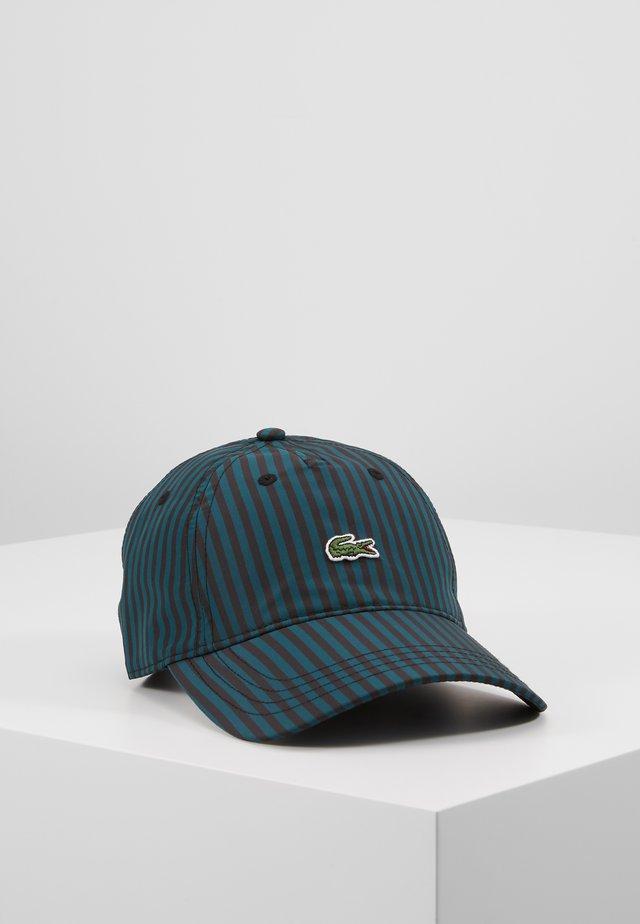 Cappellino - black/pine