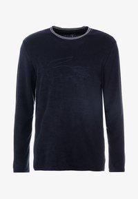 Lacoste - LONG SLEEVE CREWNECK - Camiseta de pijama - navy - 3
