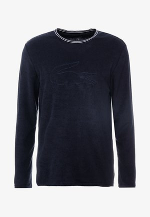 LONG SLEEVE CREWNECK - Nachtwäsche Shirt - navy