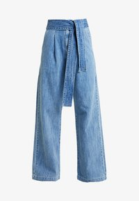 Levi's® Made & Crafted - LMC TIE TROUSER - Flared jeans - blue bell - 3