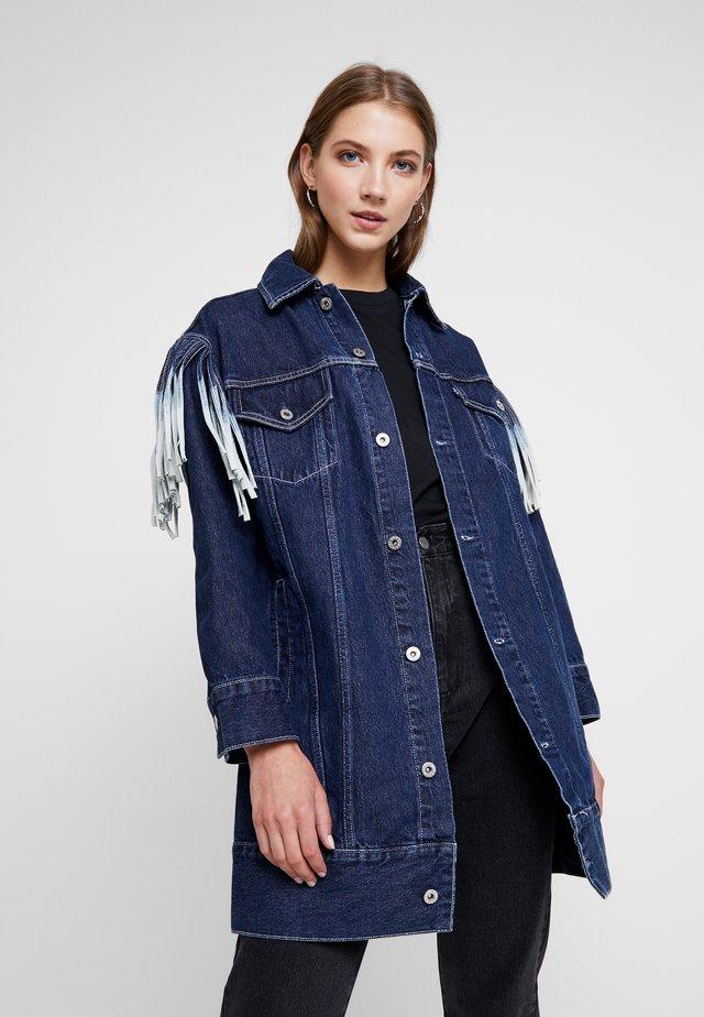 RANCH - Denim jacket - blue denim