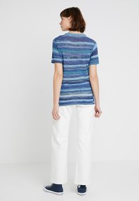 Levi's® Made & Crafted - BOY TEE - T-Shirt print - blue mirage blues - 2