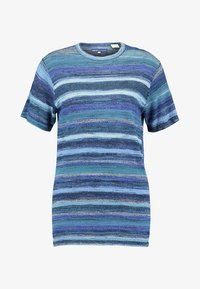 Levi's® Made & Crafted - BOY TEE - T-Shirt print - blue mirage blues - 3