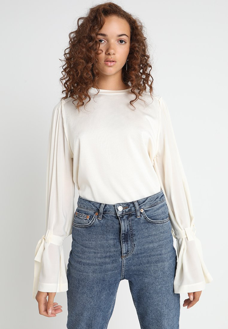 Levi's® Made & Crafted - LMC THE BITCH BLOUSE - Langarmshirt - pristine