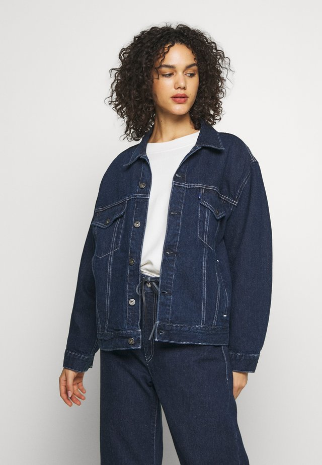 Denim jacket - majorelle blue