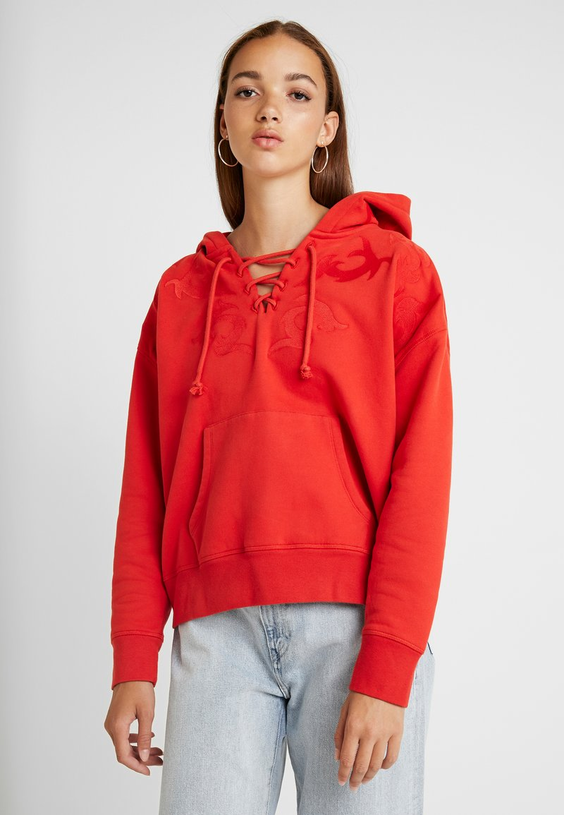 Levi's® Made & Crafted - UP HOODIE - Kapuzenpullover - aurora red
