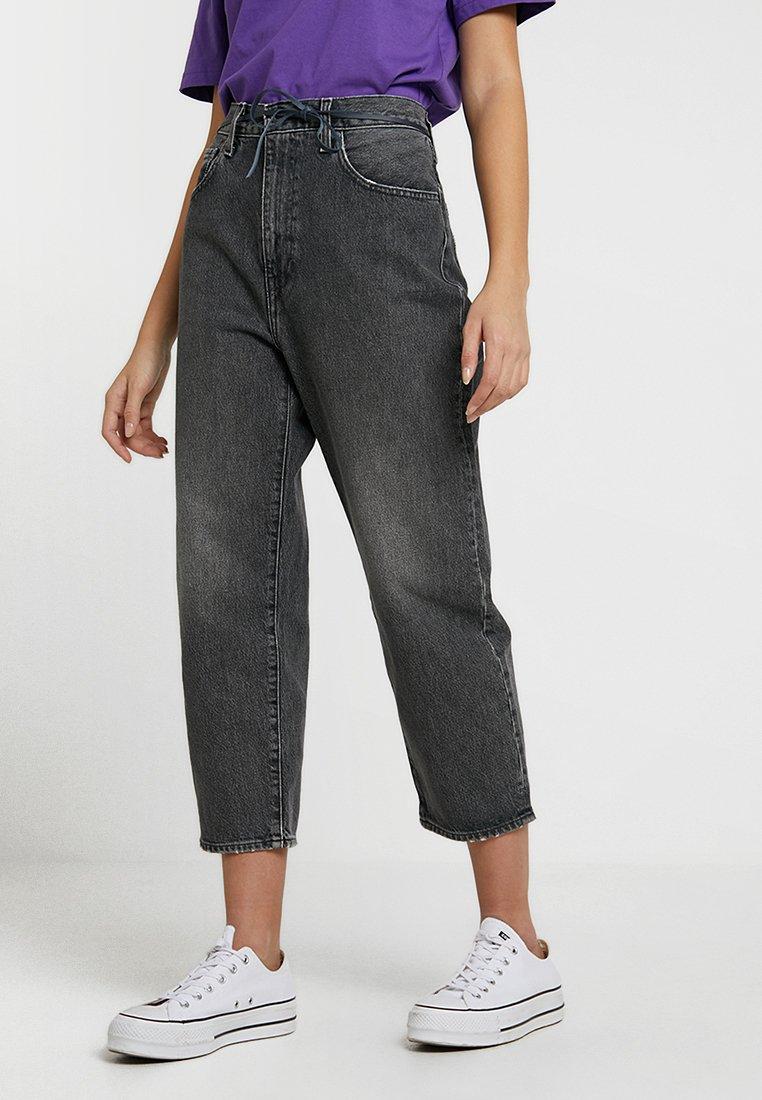 Levi's® Made & Crafted - LMC BARREL - Straight leg jeans - lmc black coal