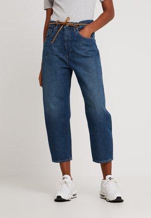 LMC BARREL - Jeans Straight Leg - lmc tequilla blue