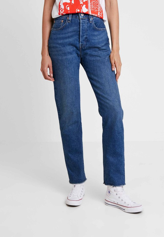 501 - Jeans straight leg - blue boots