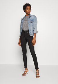 Levi's® Made & Crafted - Vaqueros pitillo - stay black - 1