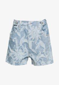 Levi's® Made & Crafted - CINCHED TAB - Denim shorts - light blue denim - 4