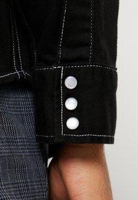 Levi's® Made & Crafted - OVERSIZED WESTERN - Košile - black denim - 5