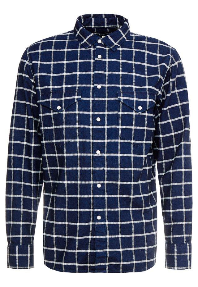 WESTERN SHIRT - Skjorta - dark blue denim