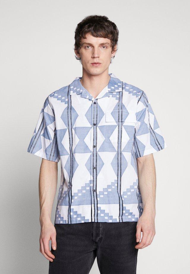 CAMP COLLAR - Overhemd - abram copen blue