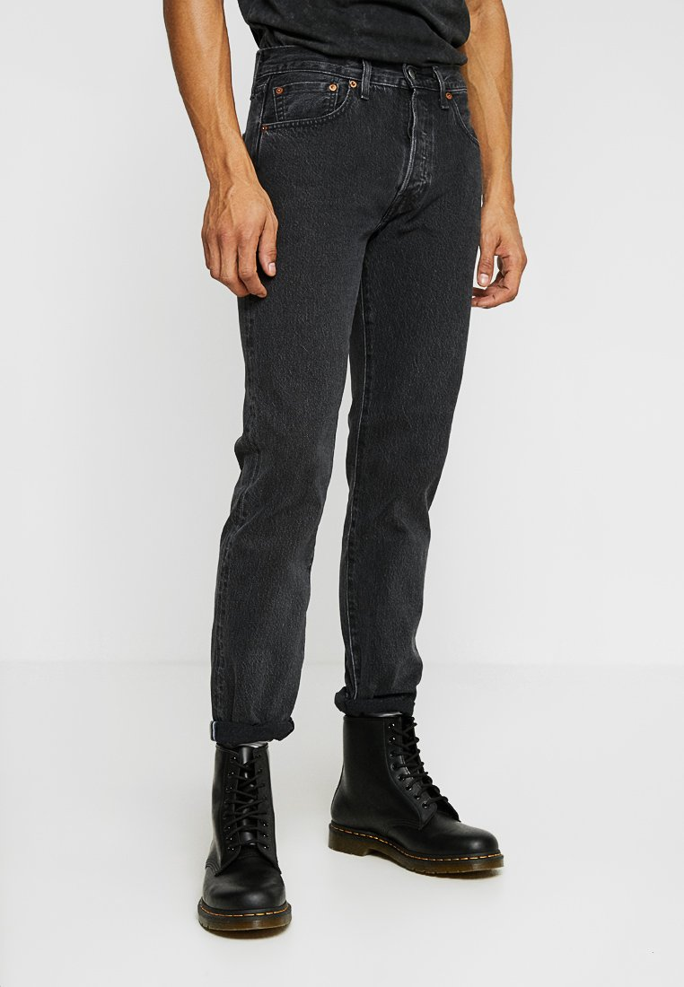 Levi's® Made & Crafted - 501® LEVI'S®ORIGINAL FIT - Jeans a sigaretta - black stonewash