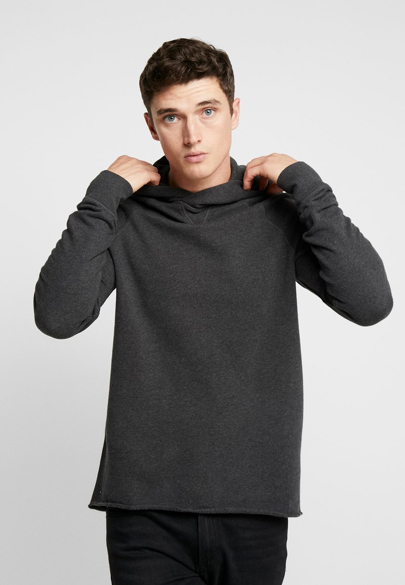 Levi's® Made & Crafted - UNHEMMED HOODIE - Hoodie - obsidian heather
