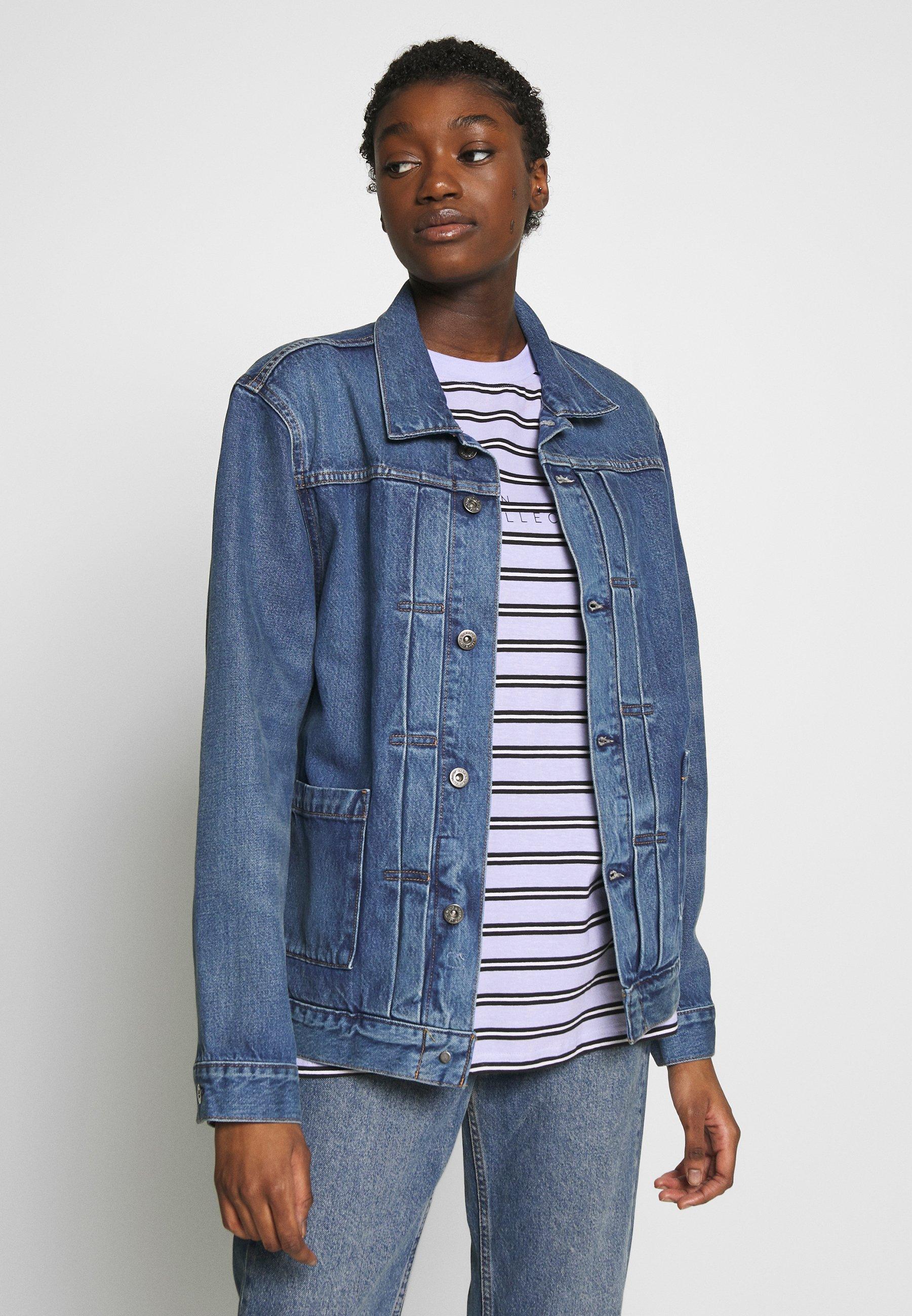 Levi's® Made & Crafted TYPE WORN TRUCKER - Jeansjakke - blue denim