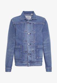 Levi's® Made & Crafted - TYPE WORN TRUCKER - Džínová bunda - blue denim - 5
