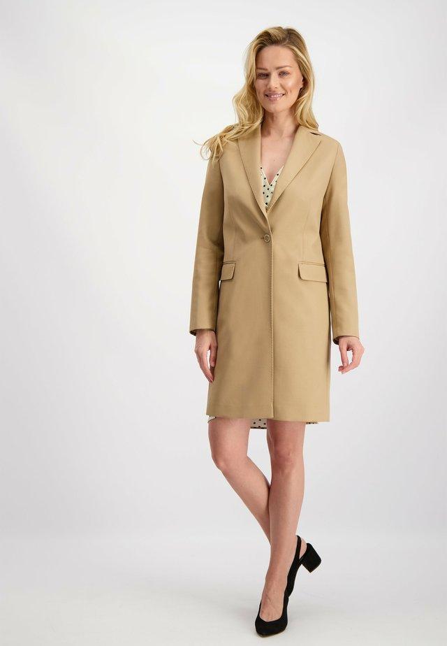 Manteau classique - kamel