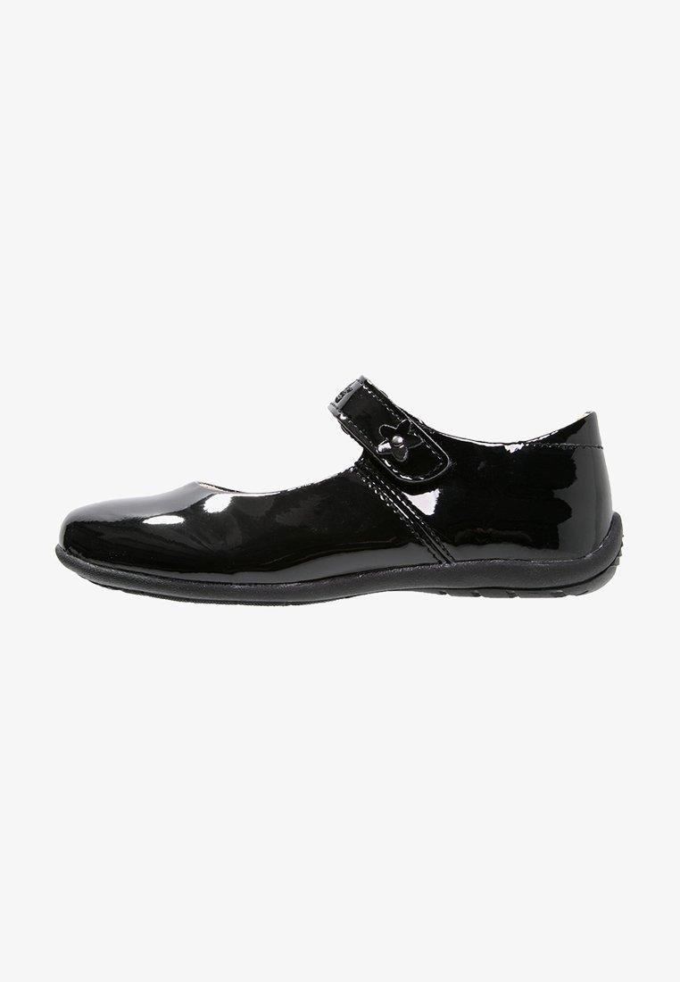 LICO - ANNA - Ankle strap ballet pumps - schwarz