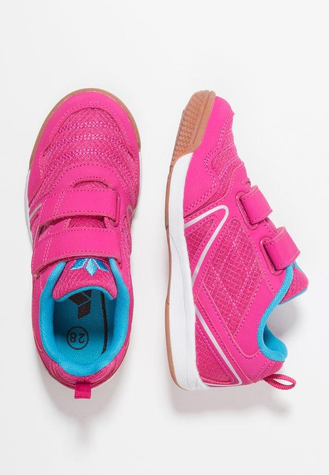 BOULDER - Sneaker low - pink/türkis