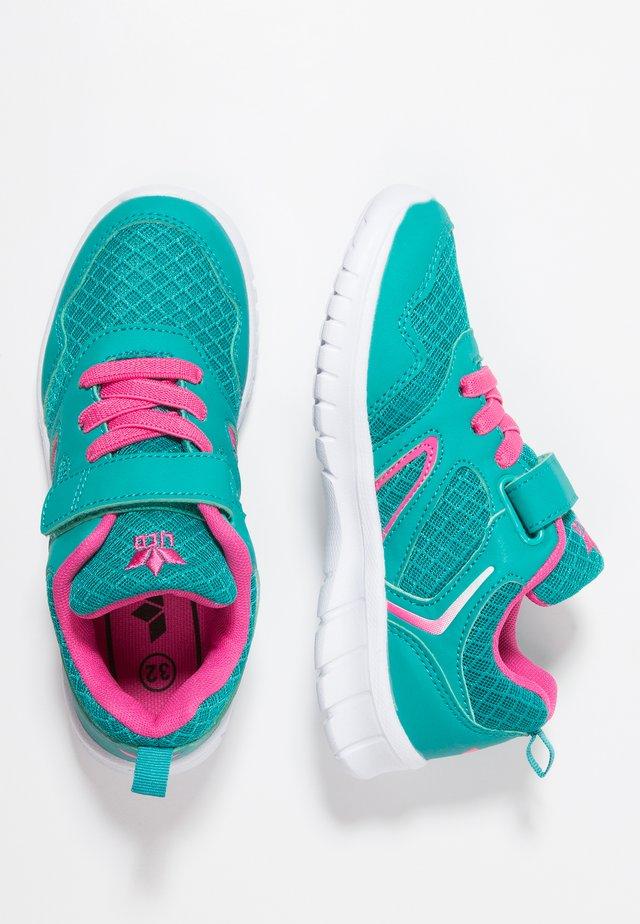 SKIP  - Sneakers laag - türkis/pink