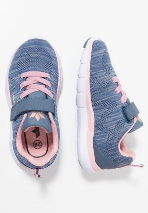 COLOUR - Sneaker low - blau/grau/rosa