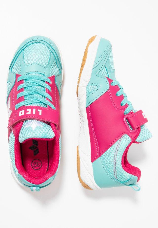 SPORT - Sneakers - türkis/pink/weiß