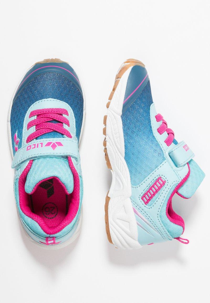 LICO - BARNEY  - Sneakers laag - türkis/marine/pink